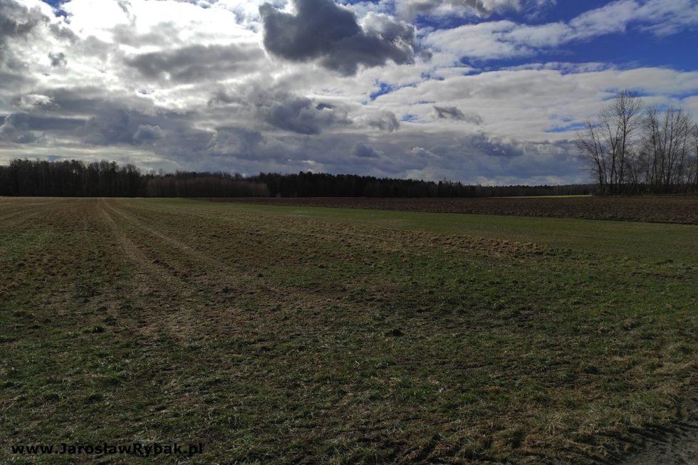 """Panorama zrzutowiska """"Puchacz""""."""